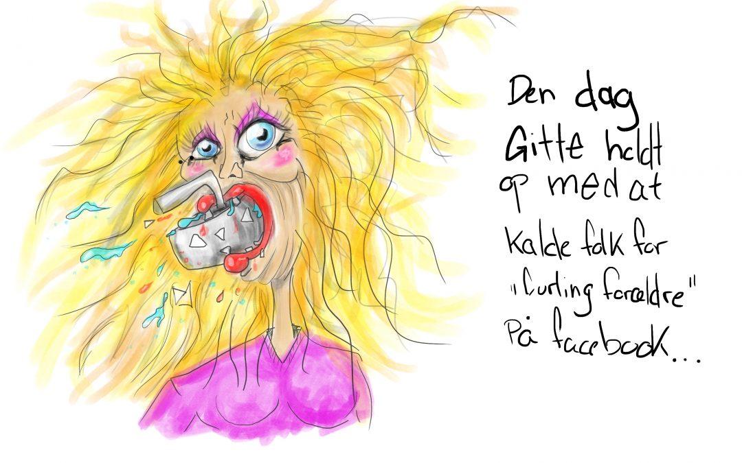 Den dag Gitte holdt op med at… Speed Drawing