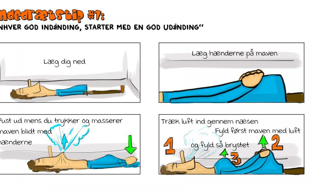 Vejrtrækningsøvelse – Speed Drawing guidet af Onkel Rejes ukendte fætter