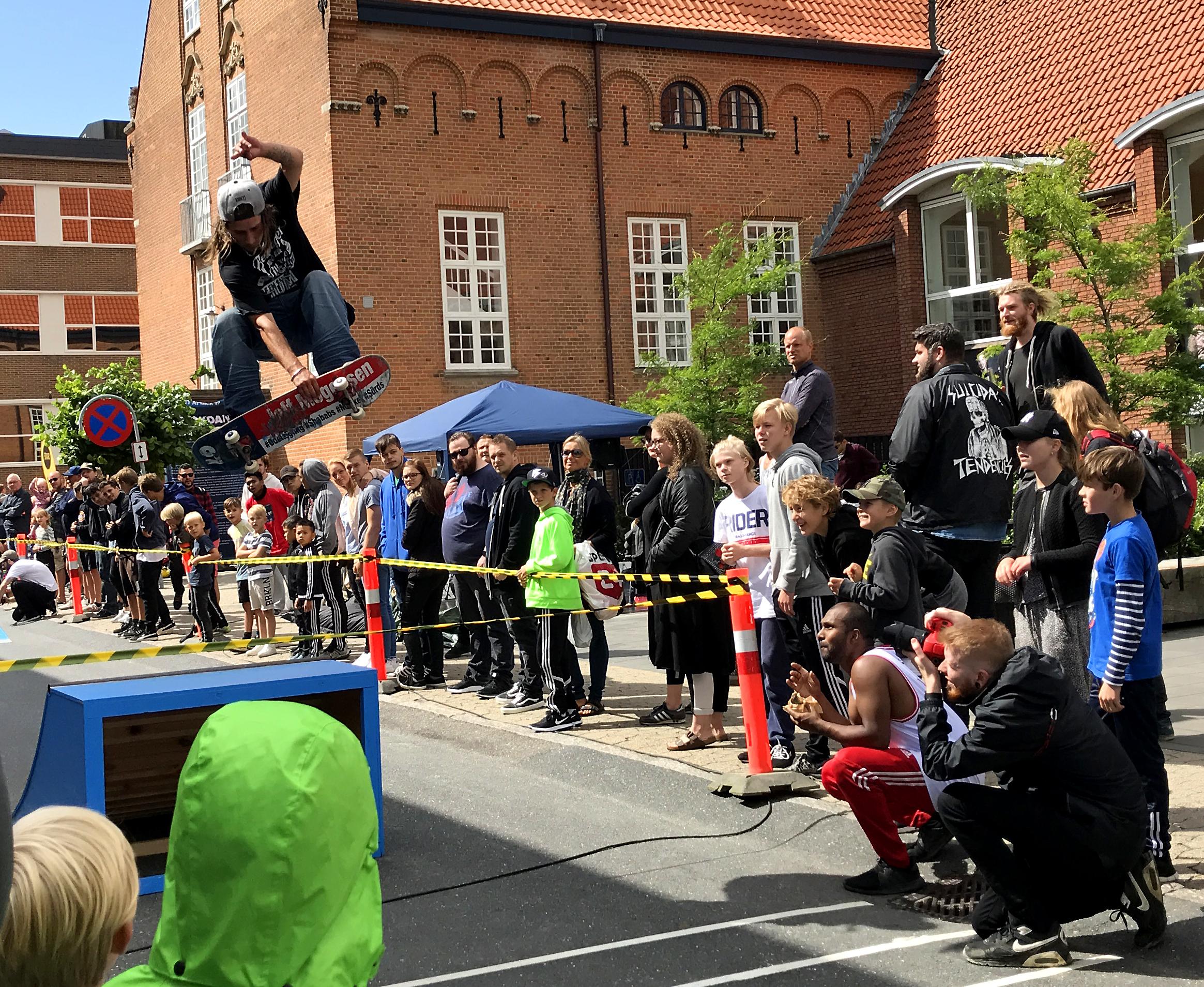Skater til Street Attack 2017 i silkeborg