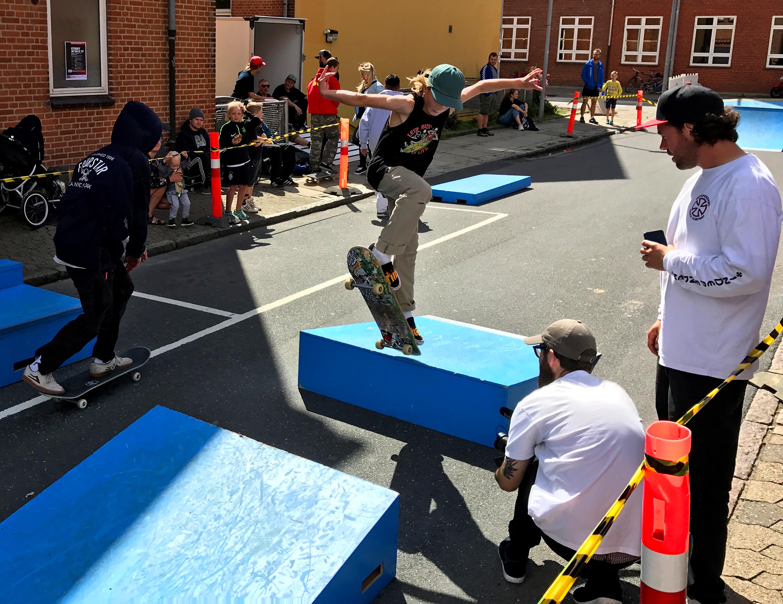 Ung skater til Street Attack 2017 i silkeborg